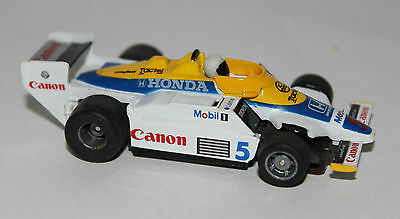TYCO Williams Honda Canon #5 Indy F1 440-X2 HO Slot Car