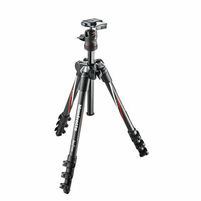 Manfrotto MKBFRC4-BH Befree Carbon Fiber Tripod with Ball Head Case Support 4kg