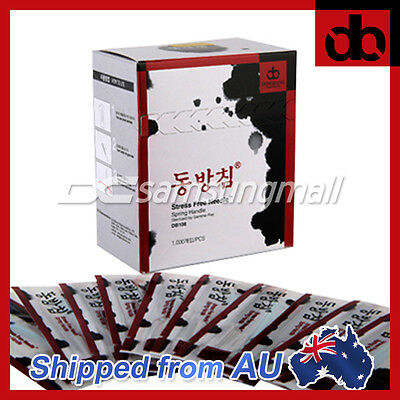 DongBang Disposable Acupuncture Needle 1000 pcs Spring Handle FROM SYDNEY