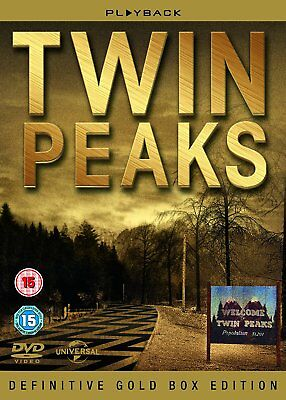 Twin Peaks - Definitive Gold Box Edition DVD Box Set New Sealed R2