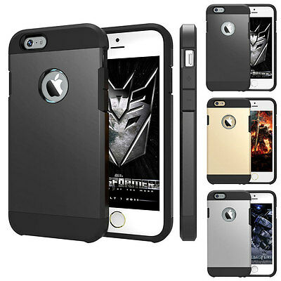 """iPhone 6 6s (4.7"""") TOUGH ARMOUR Slim Fit Shock Proof Protective Case Cover"""