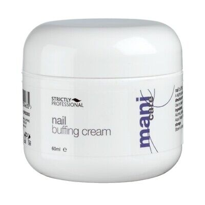 Strictly Professional Nail Buffing Cream Produces Brilliant Natural Shine 60ml