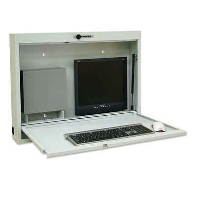 """Computer Work Station  42""""W x 4""""D x 24.5""""H 1 ea"""