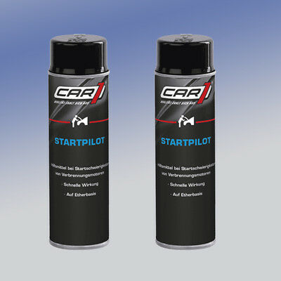 CAR1® CO3605 Startpilot 2 x 250 ml Starthilfespray Kaltstartspray Startspray
