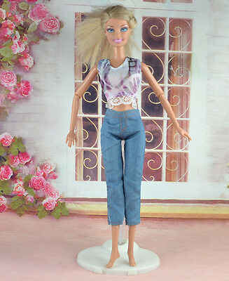 Handmade Party Clothes Fashion Dress for Noble Barbie Doll  #y52