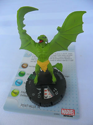 Heroclix Marvel Wolverine and the X-men Sauron #029
