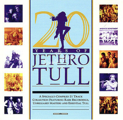 JETHRO TULL 20 YEARS OF JETHRO TULL CD in Jewel Case Booklet Album New Sealed