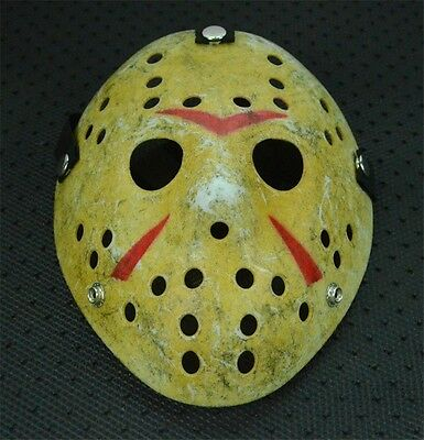 Halloween Mask Old Jason Voorhees Friday The 13th Horror Movie Hockey Mask