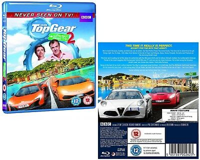 TOP GEAR UK 2014 PERFECT ROAD TRIP #2 SPECIAL Clarkson & Hammond Rg Free BLU-RAY