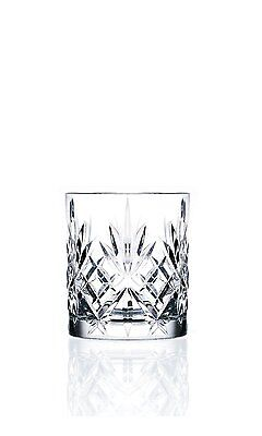 6 x RCR Melodia Crystal Whisky Tumblers Whiskey Glasses ❄Excellent Gift Idea❄