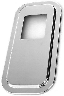 shift shifter plate floor cover stainless 4-7/8 X 5-3/4 for Peterbilt short hood