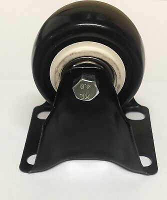 "2"" 50mm Castor Wheel FIXED PolyCaster PICK UP AVAILABLE Heavy Duty"