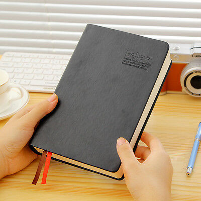 Notebook Classic Journals Diary Sketchbook Retro Leather Cover Thick Blank Pages