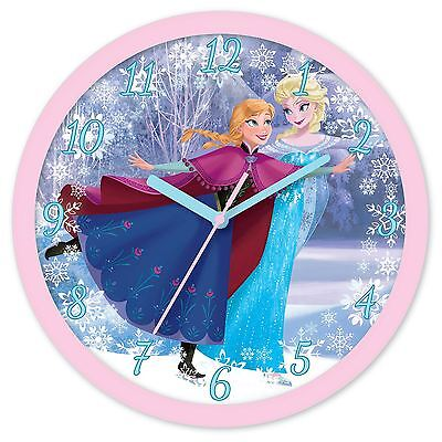 Disney Frozen Wall Clock New Official *uk Seller* Kids