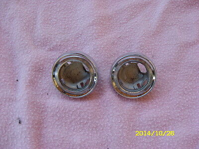 1963-1964 buick riviera dome light bezels
