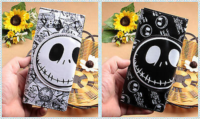 Classic Nightmare Before Christmas Purse Jack Skellington Tri-fold Wallet Gift