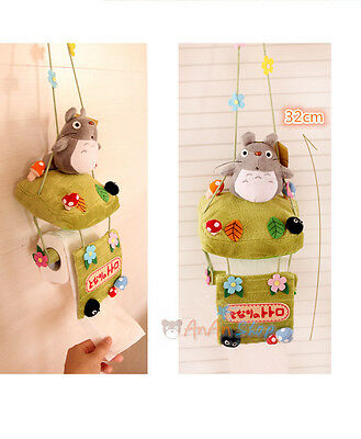 Free Shipping Stuffed Animal Doll Cute Plush Totoro Toilet Paper Holder Soft Toy
