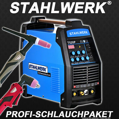 Welder STAHLWERK CT 520 PULSE and PLASMA S - WELDING with TIG INVERTER ARC STICK