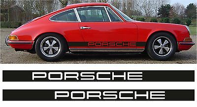 Bandes Decoratives Porsche  3.2 L Classic