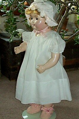 "Big Century Baby Girl Doll 22"" from the 1920s"