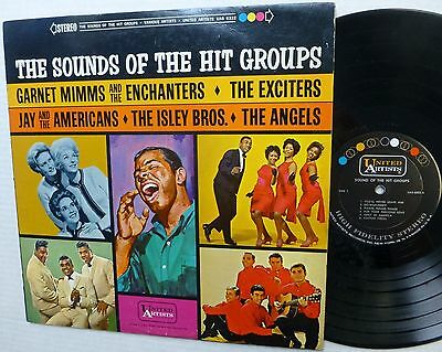 SOUNDS OF THE HIT GROUPS LP 1963 Soul Pop Compilation  T