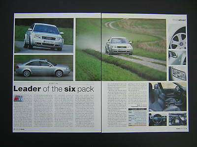 Audi S6 - First Look Road Test Article from 1999 - Original