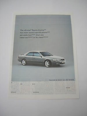 Toyota Camry Advert from 1997 - Original