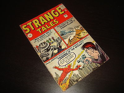 STRANGE TALES #102 Human Torch  Silver Age  Marvel Comics 1962 VG