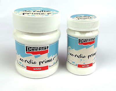 Acrylic Primer White for arts and craft decoupage