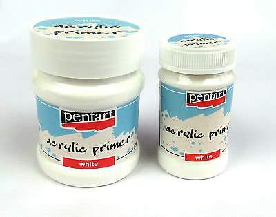 Pentart Acrylic Primer White for arts and craft decoupage