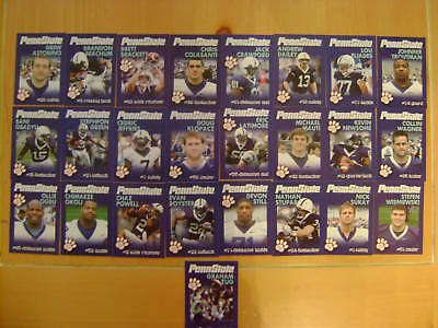 2010 Penn State Football Card Set - NEW