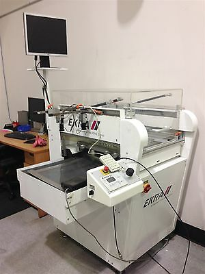 Ekra model E1 Semi-Automatic Screen Printer  (2005)
