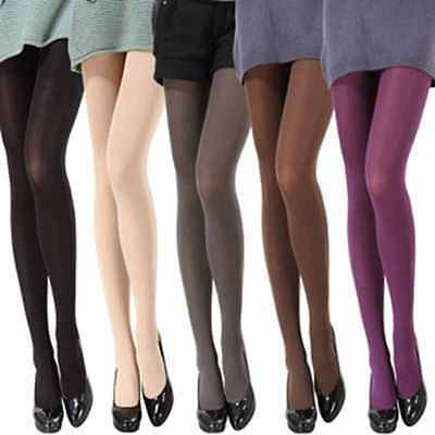 Opaque Footed Tights Sexy Women's  Pantyhose Stockings Socks Colours
