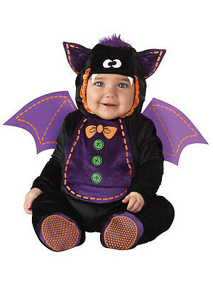 Child Infant Bat Outfit Fancy Dress Costume Halloween Animal Kids Boys Girls
