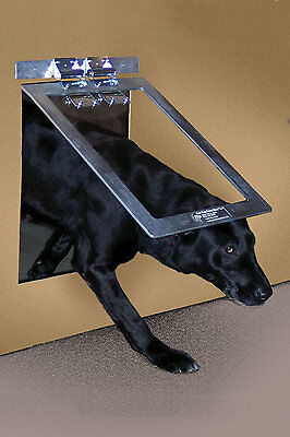 Gun Dog Heavy Duty Aluminum Dog Door - Large
