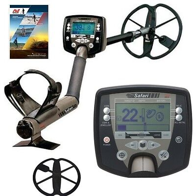 Minelab Safari Metal Detector with Free Coil Cover Plus Minelab Buyers Guide !