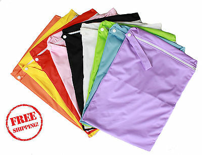 Kids Wet Bag 30x40cm for nappies, clothes, swimmers, baby clothes Waterproof