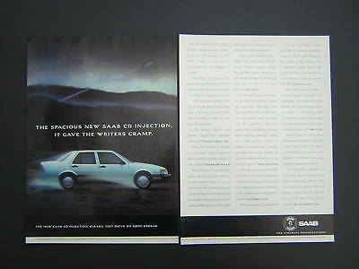 SAAB CD Injection Advert from 1989