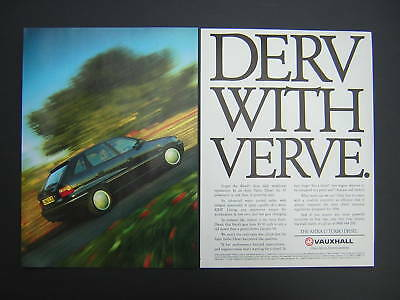 Vauxhall Astra 1.7 Turbo Diesel Advert from 1994 - TD