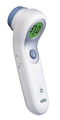 Braun No Touch AND Forehead Thermometer NTF3000 - Dual Tech - Accurate - Easy