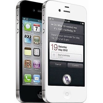 Apple iPhone 4s - 16GB FACTORY GSM UNLOCKED Smartphone in White or Black