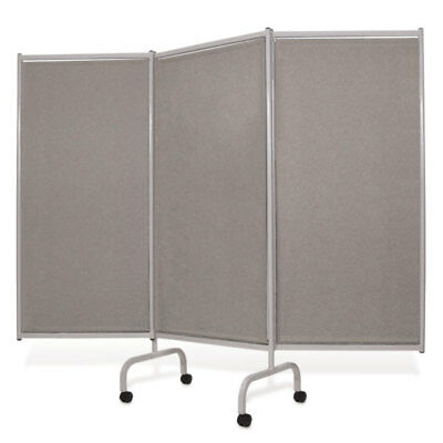 Three-Panel Folding Designer Privacy Screen 1 ea