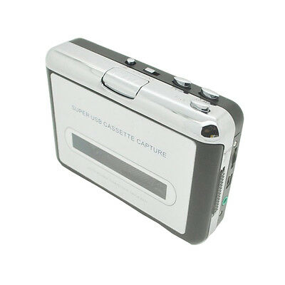 Tape to PC Super USB Cassette-to-MP3 Converter Capture Audio Music Player