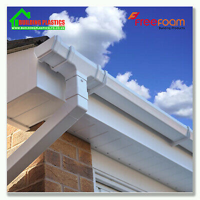 UPVC Fascia Board Cover 150mm to 300mm Fascia Capping Boards White 10mm Thick