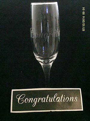 10 - 400 Congratulations word stencils for etching on glass hobby craft present