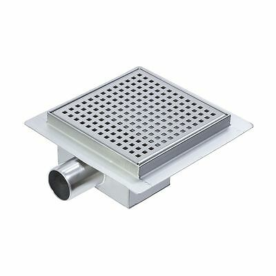 """150mm Stainless Steel """"Square"""" Wetroom / Shower Drainage System"""