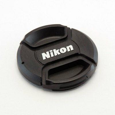 Nikon Lc-72 72Mm Centre Pinch Clip On Lens Cap For Nikon With Keeper Cord