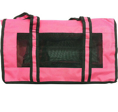 New  Dog Pet Crate Fabric Soft Carrier Kennel Travel Folding Cage & Bag