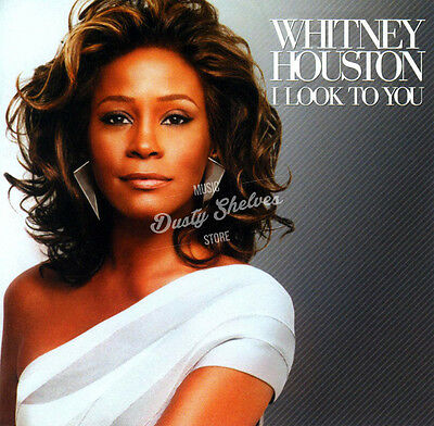 WHITNEY HOUSTON I LOOK TO YOU 12 PAGE BOOKLET CD JEWEL CASE