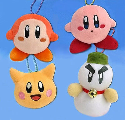 Kirby Mini Plush Enemies Soft Figure Set Kirby Waddle Dee Scarfy Chilly SK Japan